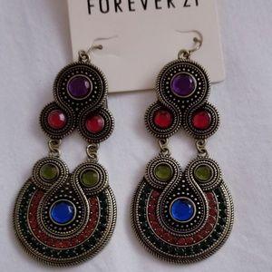 BN! Forever 21 Statement Dangle Earrings